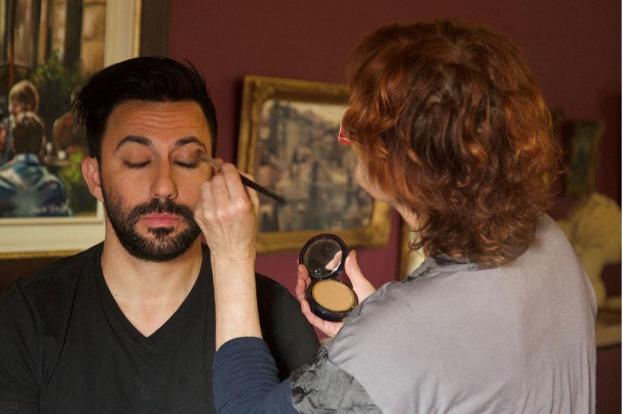 Martin Bester makeup
